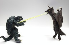 Laser ray (Infinite Hollywood) Tags: kaiju gamera gyaos daei revoltech japanesemonsters