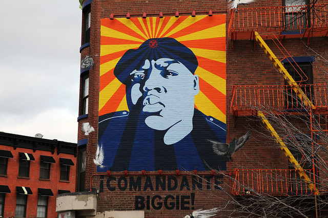 BIGGIE Mural Brooklyn - Fort Greene