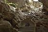 Borra Caves (Abhijith B.Rao) Tags: india steps ap stalactite stalagmites formations vizag borracaves ind andhrapradesh easternghats nikond80 arakuvalley 150millionyearsold gosthani nikkor1801350mmf3556 2squarekilometeres venkatagirihills deepestcave