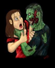 What Comes Next? (mr_meta_zombi) Tags: photoshop zombie strangle choke handdrawn throttle