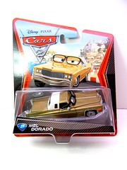 DISNEY CARS 2 MEL DORADO (1) (jadafiend) Tags: scale kids toys model disney puzzle pixar remotecontrol collectors adults variation francesco launcher cars2 crewchief lightningmcqueen lewishamilton targetexclusive kmartexclusive collectandconnect raoulcaroule jeffgorvette johnlassetire carlomaserati piniontanaka carlavelosocrewchief mcqueenalive denisebeam meldorado pitcrewfillmore francescoscrewchief