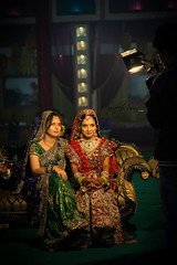 Maharani Style (photofixation) Tags: india lights bride video nikon videographer weddingphotographer weddingphotography d700