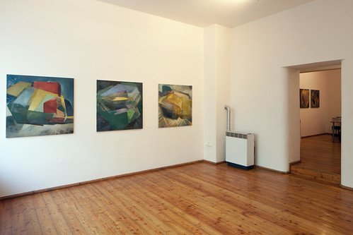 CUBIC WORLDS II,  Galerie Michael Heufelder, München, 2011  Foto:Lothar Reichel