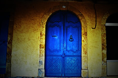Happy New Year! (Tinina67) Tags: door camera new blue france year wishes tina silvester jahr 2012 marciac tinina67