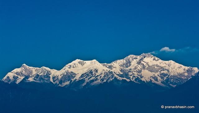 Kanchenjunga Range from Darjeeling