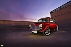 Mini cooper (Bandal) Tags: auto lighting classic cars car magazine advertising fun funny mini commercial cooper clasico strobe 1300 30d bandal autmotive speedhunters xavigalvez luxury4play