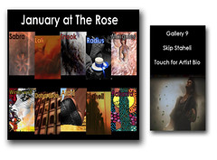 "Poster ""The Rose Theatre"" January 2012 (***Skip Staheli***) Tags: show art avatar sl secondlife exhibt skipstaheli"