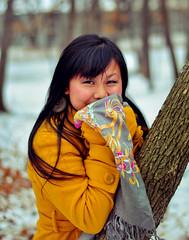 kia_7 (Two_OfNine) Tags: winter snow cold minnesota scarf river 50mm nikon rocks bricks minneapolis falls saintpaul flakes hmong minnehaha minnehahafalls hmoob d90 18g nikond90 nikon50mm18g