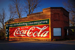 Coke Sign (Jon Arrowood Photography) Tags: street sign st town nc mural cola main small coke coca jja lincolnton son
