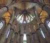 Interior de Santa María del Mar (Rafael Jiménez) Tags: barcelona españa spain 2012 gótico aboutiberia