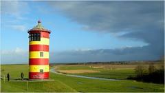 Der Pilsumer Leuchtturm - The Lighthouse Pilsum (h.bresser) Tags: lighthouse germany deutschland ostfriesland nordsee leuchtturm pilsum hbresser
