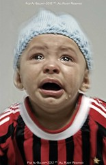 When Milan lose the Game ;( (FoZiGraPhy) Tags: baby milan cute photographer sony alfa ac fawzi fozi          albalawi albuluwi