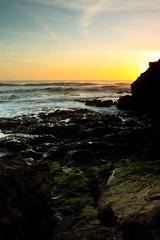 Rodeo Sunset (owen_ljung) Tags: ocean sf california ca city sunset sea cliff green beach water beauty rock canon lens eos bay moss amazing nice sand san francisco raw salt filter nd l rodeo series sanfran mm grad 510 1740 graduated density 415 neutral 50d gradnd