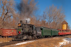 Florence & Cripple Creek (Rocky Pix) Tags: christmas railroad mountain rio museum creek grande florence colorado pix hand engine rocky denver f16 western eddie 40mm held nikkor 1881 346 rockypix steamup normalzoom 1250thsec 2470mmf28g cipple tkowski wmichelkiteley