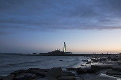 Good Old St Mary's (Laura donothey) Tags: england lighthouse seascape landscape photography northeast stmarys whitleybay