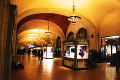 Grand Central Station (Gary Burke.) Tags: nyc newyorkcity ny newyork architecture canon eos rebel hall manhattan gothic corridor landmark terminal hallway midtown trainstation grandcentralstation gothamist dslr eastside garyburke klingon65 t1i canoneosrebelt1i