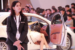 At Auto Expo 2012 (Tarun Chopra) Tags: india gurgaon bharat newdelhi hindusthan canon7d autoexpo2012