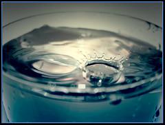 mini splash (PurpleErotique) Tags: water glass photo splash photgraphy