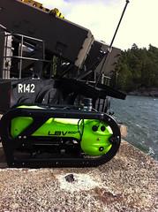R142 Ystad (SoderZtrom) Tags: sea summer cloud green water robot underwater military attack fast craft quay rocket missile launcher ystad