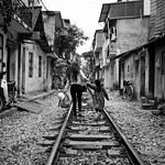 Living on the Tracks, Tran Phu - Hanoi