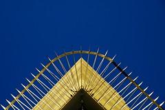 (martinpickard) Tags: blue sky fence birmingham security railing