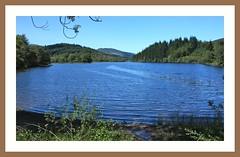 Loch Ard (Mac ind g) Tags: blue summer walking landscape scotland framed loch trossachs ard thetrossachs lochard lochlomondandthetrossachsnationalpark