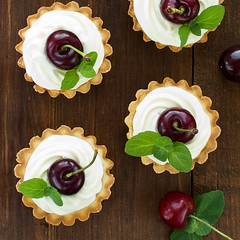 "cherry tartlets • <a style=""font-size:0.8em;"" href=""http://www.flickr.com/photos/73382179@N02/6716447851/"" target=""_blank"">View on Flickr</a>"