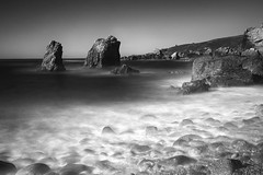 anchors (Andy Kennelly) Tags: california sea bw beach big rocks long exposure sur garrapata stacks anchors