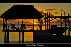 Faka sunset - Antoine Pacific Islands