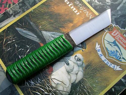 มีดตะไบเด้อ ปลายแบบอเมริกันตันโตะ