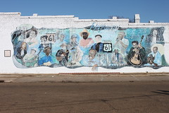 Highway 61 Blues Mural
