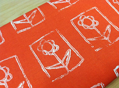 fabricswap2 (noodleheadsews) Tags: sewing stamp fabric printing handprinted blockprinting