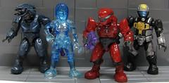 MEGA BLOKS - Halo Series 4 Minifigures (1) (ToyWiz.com) Tags: halo mini elite figure minifig spartan mega minifigure cortana bloks odst toywiz