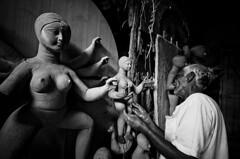 _AYA2475 (ayashok photography) Tags: bw india asian nikon asia god indian dude desi series bharat godess bharath workmanship desh kolkatta barat westbengal potterytown barath nikkor50mm photoseries durgapooja kumartuli ayashok nikond300 tokina1116mm kumartulli kolkattta