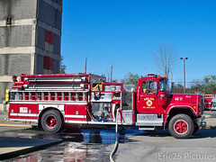 Milan FD Engine 48-11 (Eric25 Pictures) Tags: ny milan fire dcc engine q mack siren pumper eone