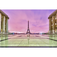Paris, la Tour Eiffel (Zed The Dragon) Tags: morning light sunset paris france reflection ex architecture night french geotagged effects photography lights iso100 photo long exposure flickr tour view shot minolta photos sony f100 eiffel images best full fave reflet most ciel frame esplanade getty palais faves 100 20mm fullframe alpha nuit postproduction sal zed dg gettyimages 2012 francais lightroom chaillot historique effets storia parisien flickrs favoris 24x36 0sec 100faves a850 sonyalpha hpexif flickraward concordians 100commentgroup 100comment dslra850 alpha850 zedthedragon 100coms fontenayexpozed mosaique2012a