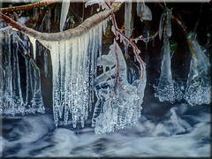 The ice age begins (Ostseetroll) Tags: winter ice water wasser icicle eis eiszapfen