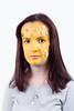 Många Små Knappar (evilibby) Tags: portrait face yellow paint buttons louise pastels brunette facepaint yellowpaint knappar pastelbuttons yellowfacepaint mångasmåknappar