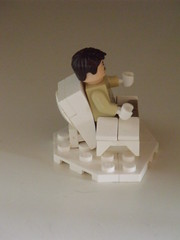 Chair design- side (Legonardo Da Bricki) Tags: design chair lego da bricki legonardo