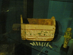 Shabti box (konde) Tags: wood museum ancient egypt shabti ushabti 22nddynasty thirdintermediateperiod shabtibox ushabtibox