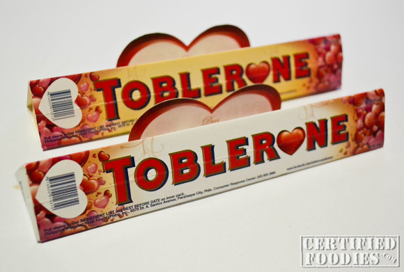 Toblerone's special Valentine's day packaging