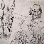 "<b>Untitled</b><br/> Jean Jansem (1920-) ""Untitled"" Etching, n.d. LFAC #657<a href=""//farm8.static.flickr.com/7149/6852264757_a1d50f38ae_o.jpg"" title=""High res"">∝</a>"