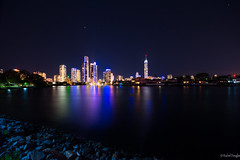 A night on the Gold Coast (On Instagram @Rachel_Joanne) Tags: nightphotography reflection stars cityscape nightscape australia citylights queensland surfersparadise goldcoast southeastqueensland starsinthesky racheljoanne visitgoldcoast