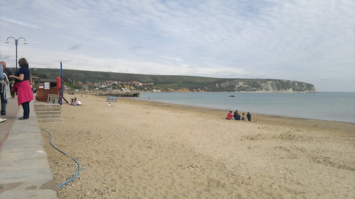 beach at Swanage