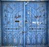 Tunisian Door [Explored] (Walid Mahfoudh) Tags: door old blue doors tunisia tunis porte vieux ancien portes تونس باب mahdia أزرق المهدية أبواب عتيقة
