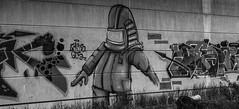 graffiti lost place (functionless.art) Tags: urban art canon deutschland graffiti kunst schwarzweiss mecklenburgvorpommern lostplace eos7d