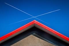 Sur les toits (Zwitt Erion) Tags: roof urban color couleurs conceptual urbain tout conceptuel