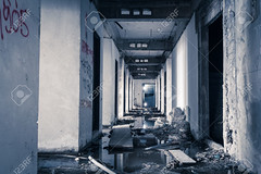 hallway walkway abandoned building can use horror movie scene background (ACC_5588) Tags: old shadow urban abstract building art industry broken window monster wall mystery architecture danger dark outdoors scary garbage paint factory robe background destruction interior empty room grunge fear ghost rusty dirty haunted creepy spooky fantasy abandon killer horror workplace environment inside nightmare waste drama bizarre hazard apparition deadly thriller exorcism
