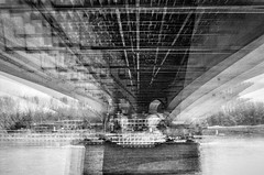 Bonn Sdbrcke (phototobi78) Tags: film self bonn developed r4 multiexposure sdbrcke 7x caffenol leics polypan