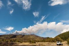 "The plume created by ""Voragine"", Mount Etna - 18/05/2016 (Lorenzo Sedita) Tags: fountain lens volcano lava nikon panda fiat 10 wide sigma mount sicily 20 etna eruption catania sicilia vulcano plume 2016 cenere pennacchio eruzione"